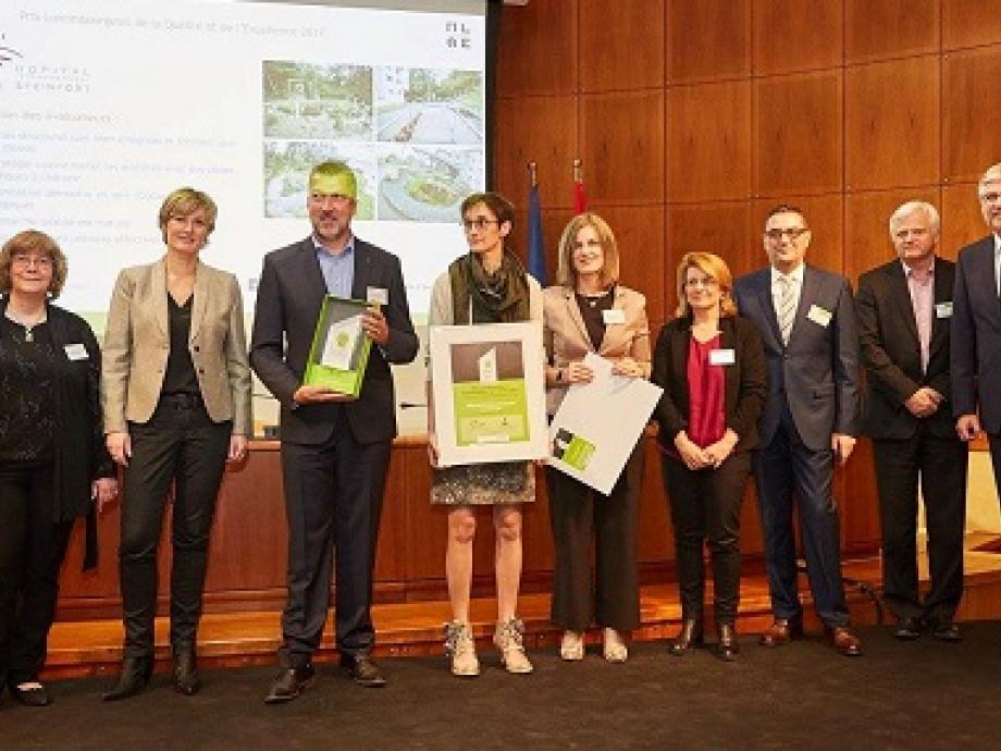 L'Hôpital Intercommunal de Steinfort remporte pour la 2ème fois le Prix Luxembourgeois de la Qualité et de l'Excellence.